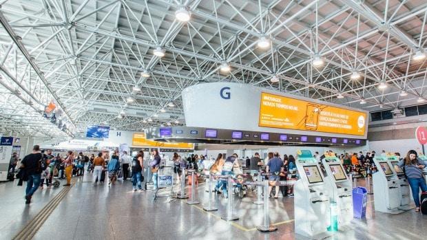 aéroport de Galeao à Rio de Janeiro
