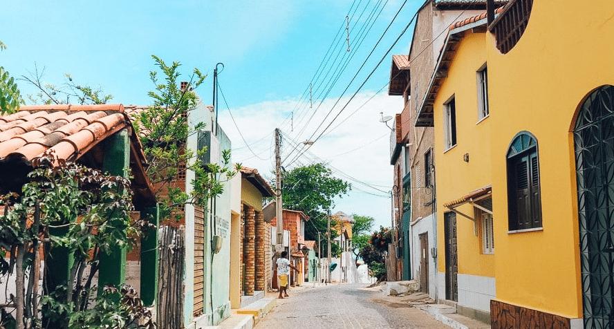 rue au Brésil