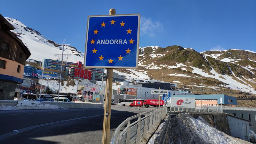 entrée d'Andorre